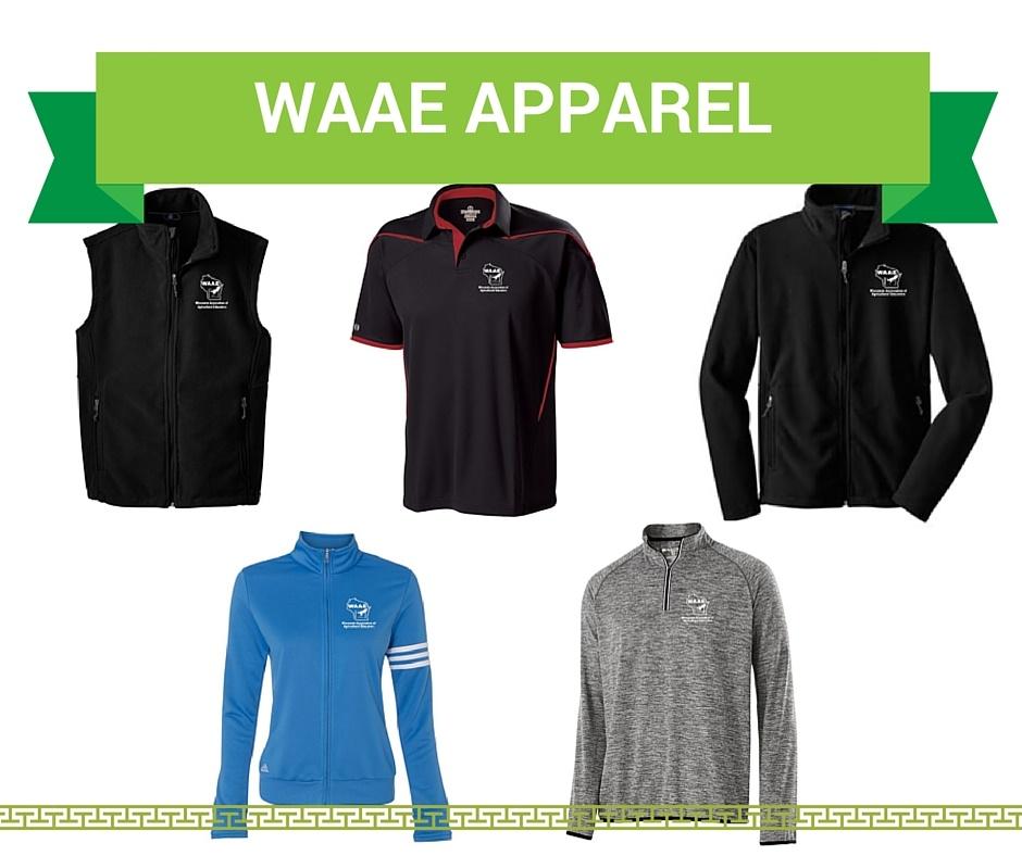 WAAE Apparel Order