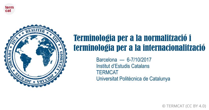 El TERMCAT coorganitzauna jornada dedicada a terminologia, normalització i internacionalització