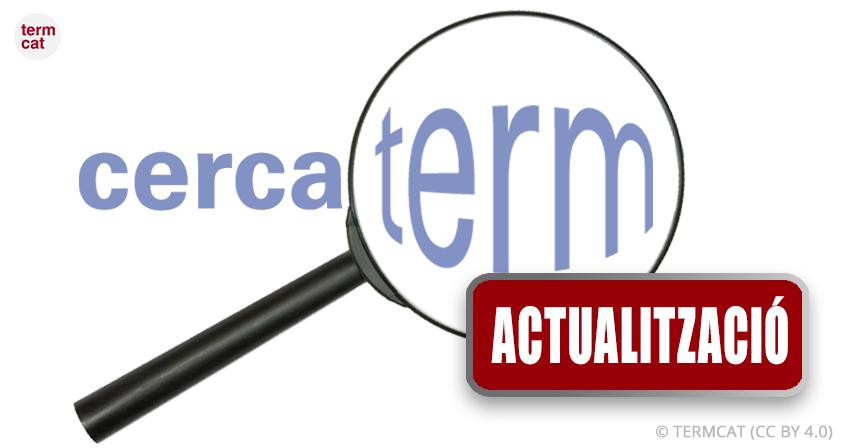 El Cercaterm s'adapta a la nova ortografia