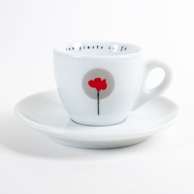 san giusto caffe espresso cup and sauce