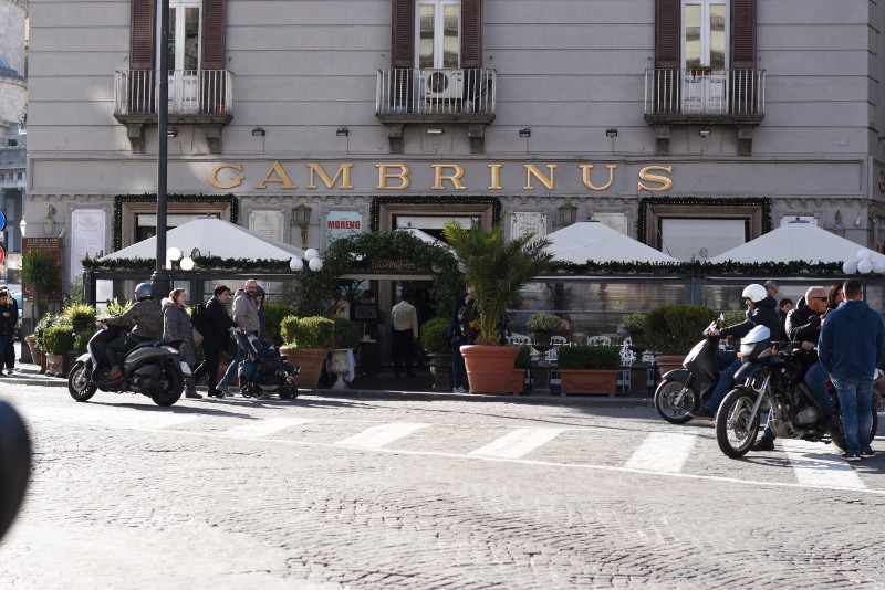 caffe gambrinus naples italy