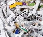 Image of a shredded paper