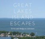 Image of Lake with Text 'Great Lakes Island Escapes'