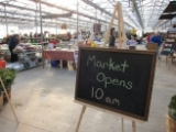 Market Opens at 10am