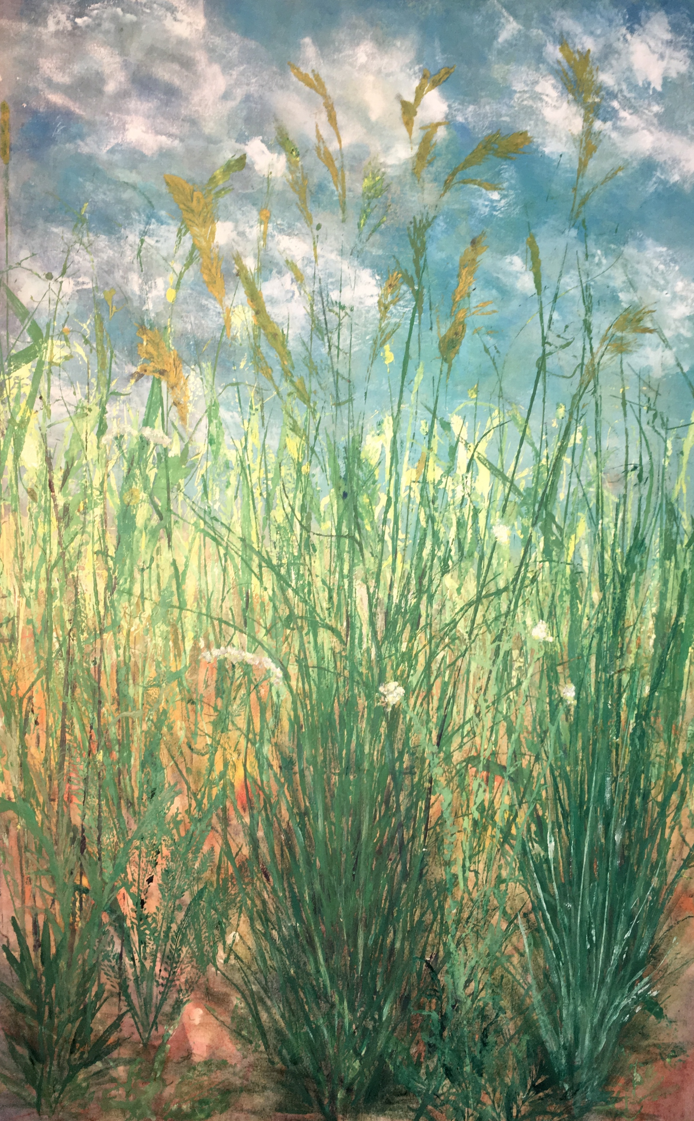 """A Day in July""  ©Linda Snouffer, Botanical Printmaker        Lindasnouffer.com"