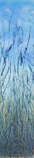 """Another Day in Sogn Valley  38"" x 9""  $495  ©Linda Snouffer, Botanical Printmaker        Lindasnouffer.com525"