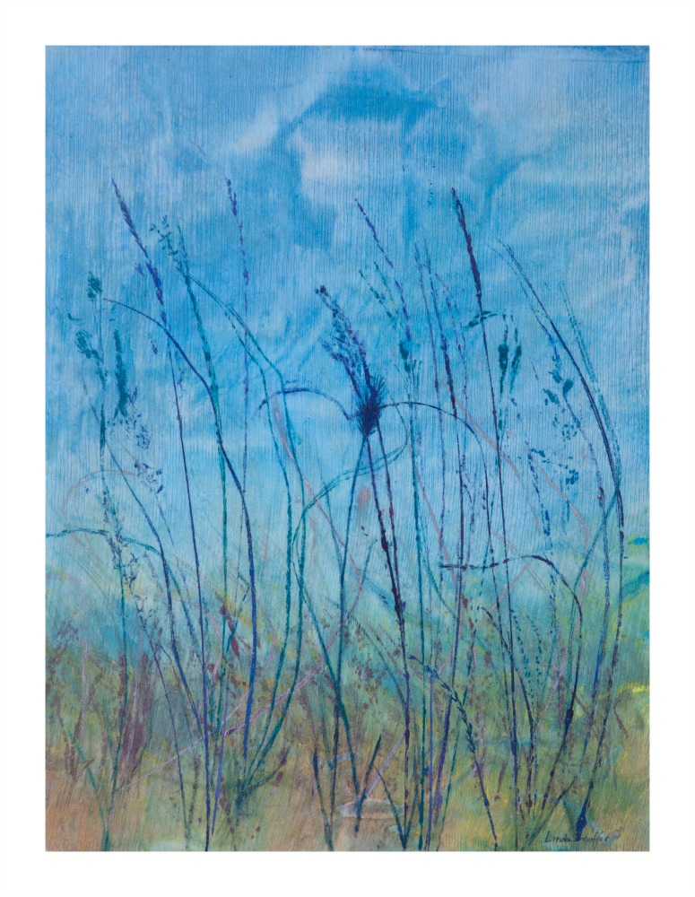 """Knee High"" 20"" x 15""  $350 ©Linda Snouffer, Botanical Printmaker"