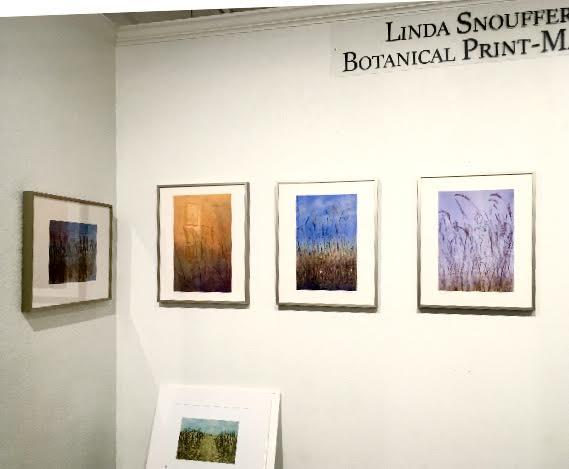 Linda Snouffer, Botanical Printmaker at The Dow Gallery, St. Paul, MN