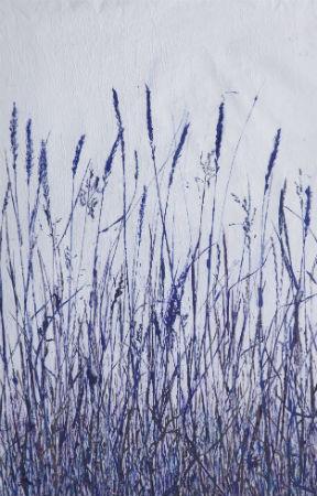 """""""Simplicity""""  26"""" x 23""""  ©Linda Snouffer, Botanical Printmaker"""