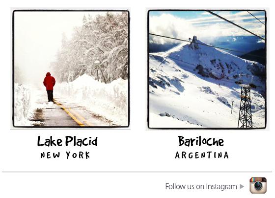 Lake Placid and Bariloche