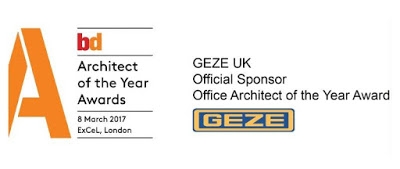 GEZE UK is holding the door wide open for talented architects to take their place in the spotlight by sponsoring an award at the BD Architect of the Year Awards for the second year running.