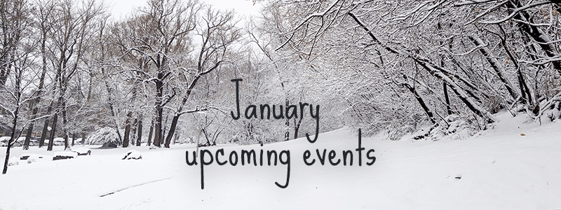 January Upcoming Events
