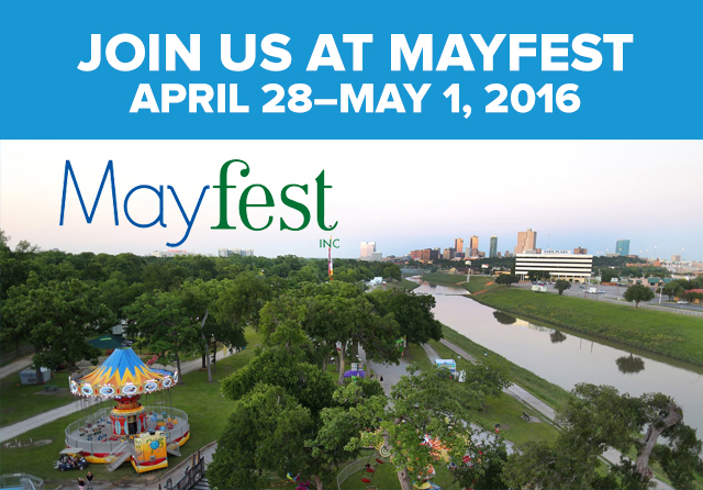Join us at Mayfest