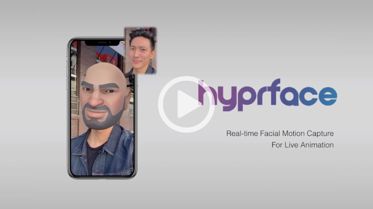 hyprface SDK demo video