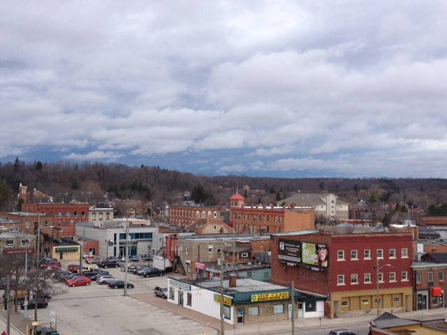 image of downtown Owen Sound