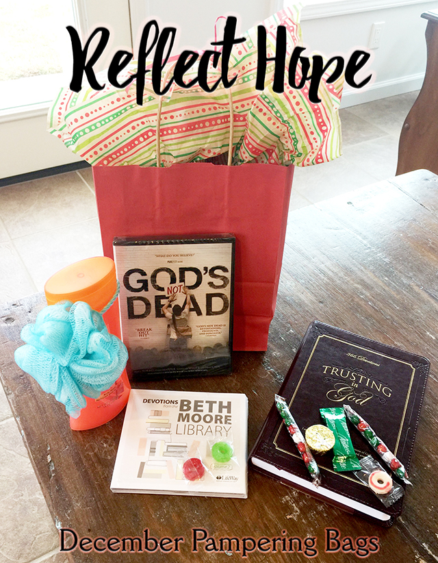 Reflect Hope Pampering Bags
