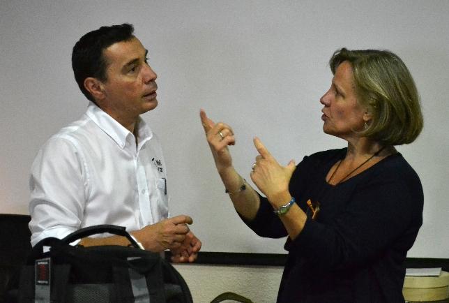 Laurent Mons & Sue Sturman