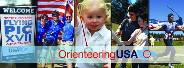 Orienteering USA Banner
