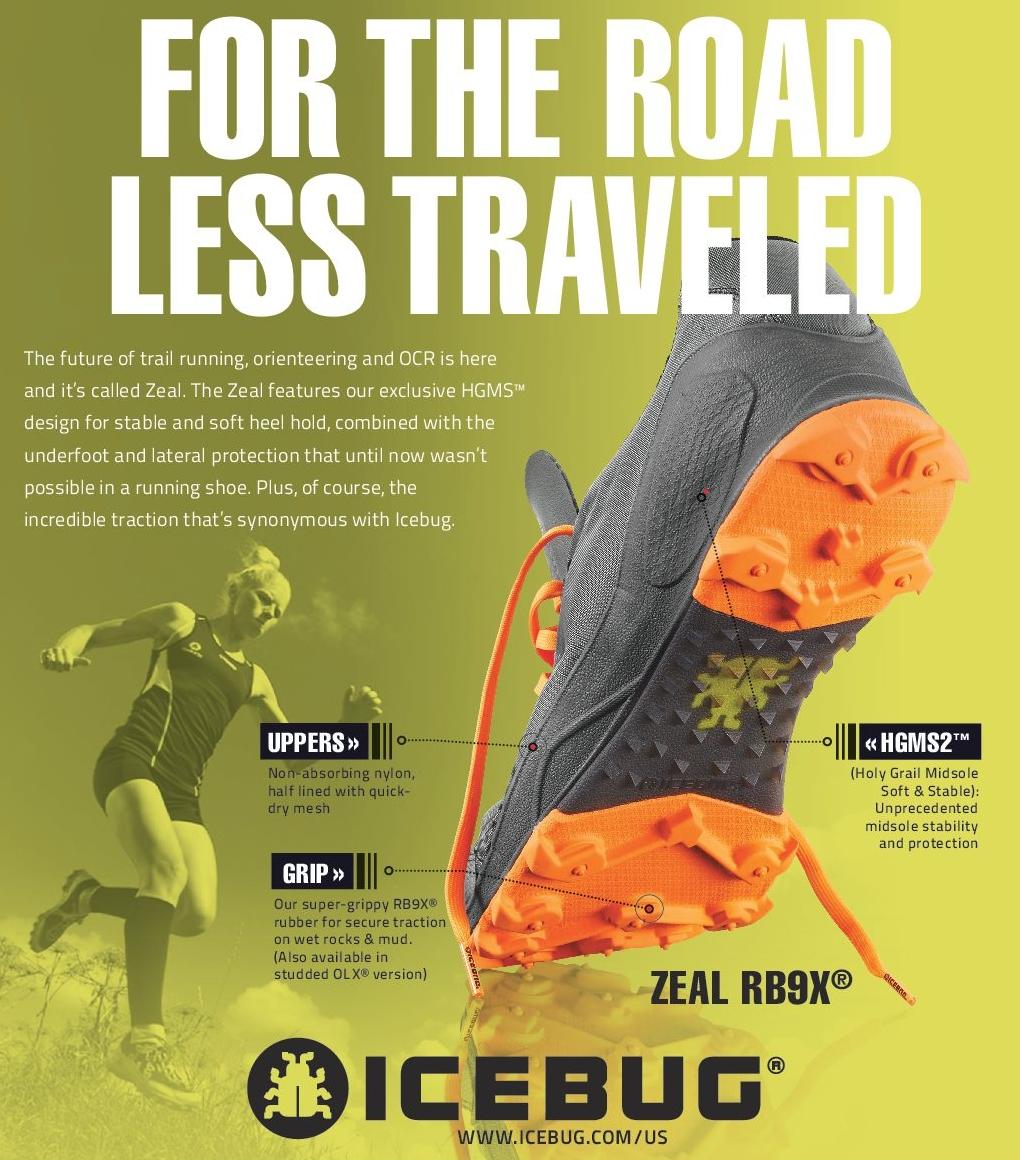 Icebug's new shoe - The Zeal