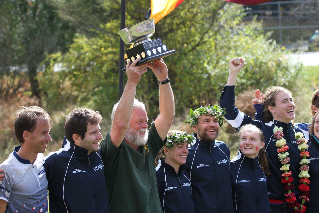 Kjellstrom Cup Win - photo by Ken Walker