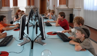 Kids Using the Internet