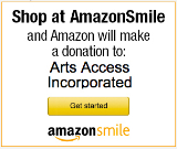 Click here to support Arts Access with Amazon Smile