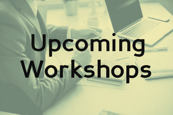Click here to view information on upcoming workshops on the Arts Access website