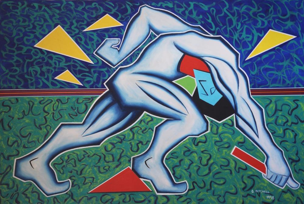 George Mitchell Artwork