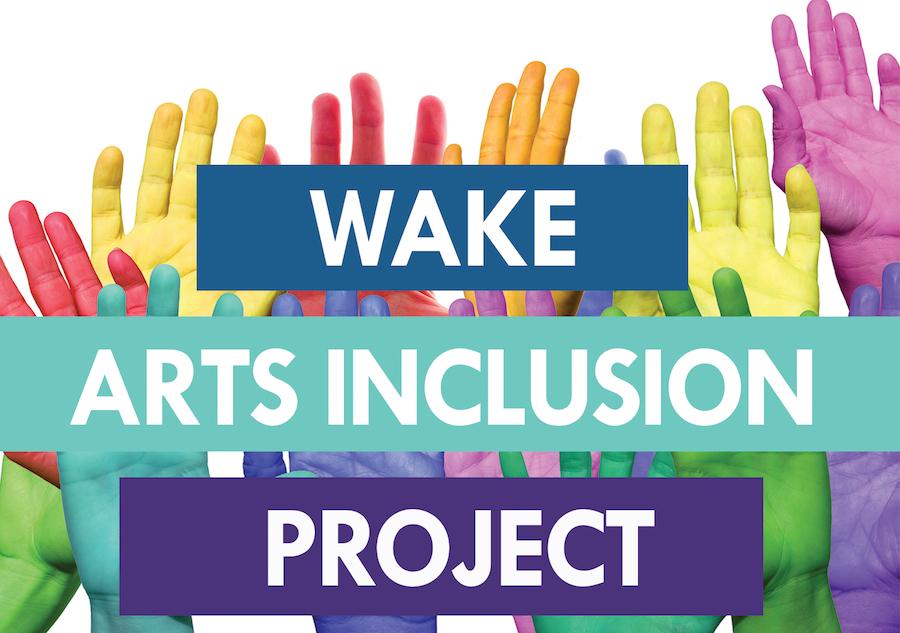 Wake Arts Inclusion Project Logo