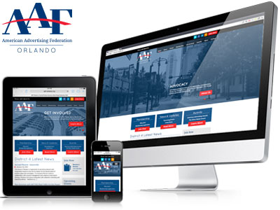 AAF-Orlando - New Website