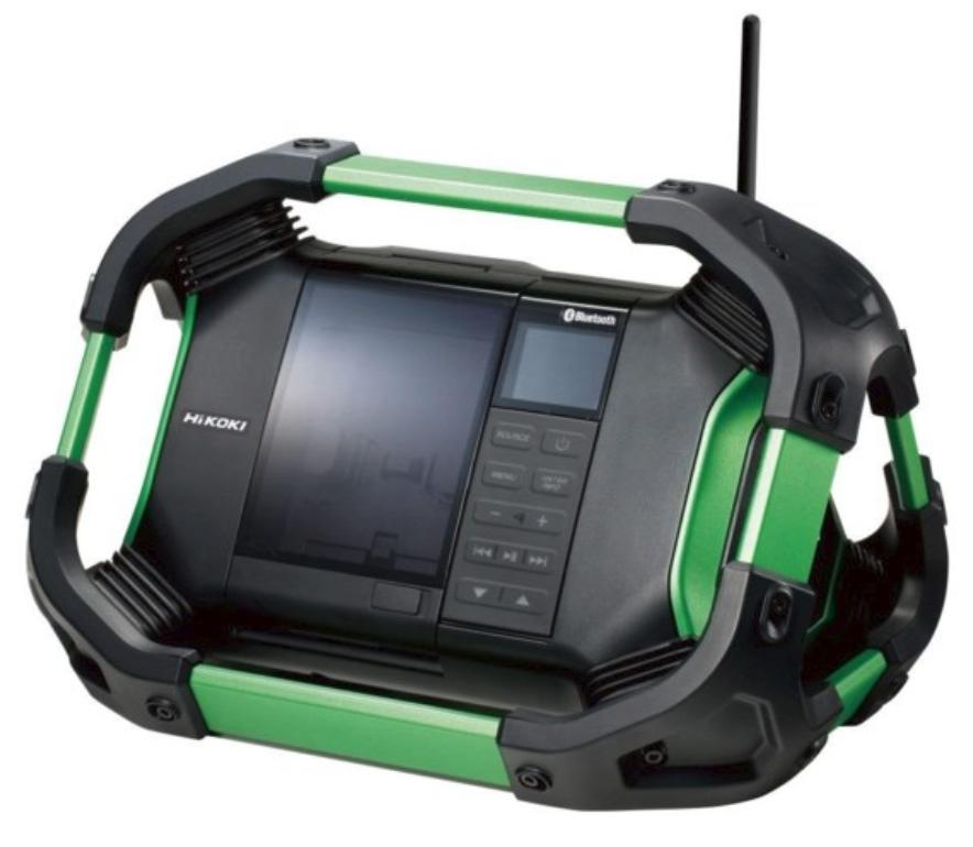18V Hikoki Bluetooth sound system (18V battery included)