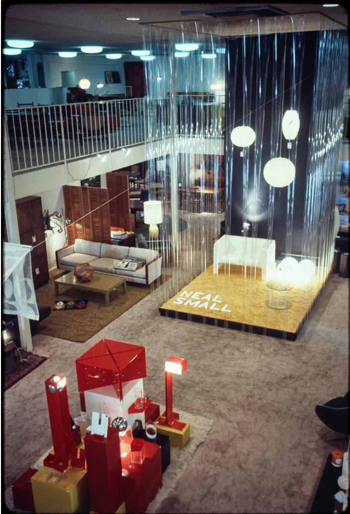 Neal Small exhibition at Frank Bros., 1969 Getty Research Institute, Los Angeles (2009.M.19)