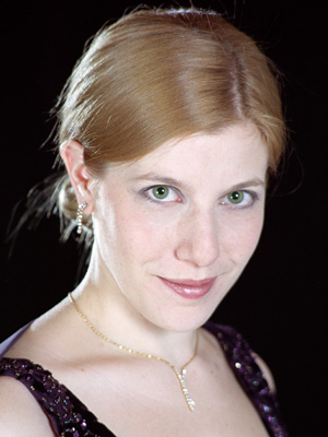 Erin Sparks, mezzo-soprano, NSTT Portia White Award winner 2003, 2004 and 2005