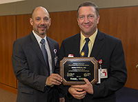 Michael Wilhelm, MD, Receives a UW Health Clinical Practice Excellence Award