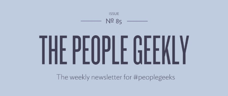 The People Geekly 81