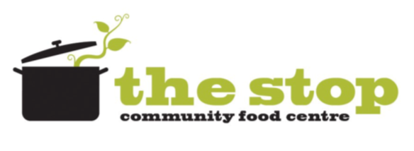 Logo of a pot - the stop community food centre