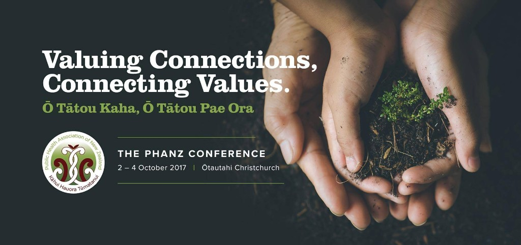PHANZ Conference 2017 banner.