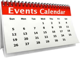 image of events calendar