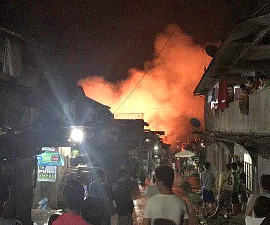 Islamic extremist Mauti Group, allied with the Islamic State, wreaks violence on Marawi City, Mindanao. (WCN Twitter photo)