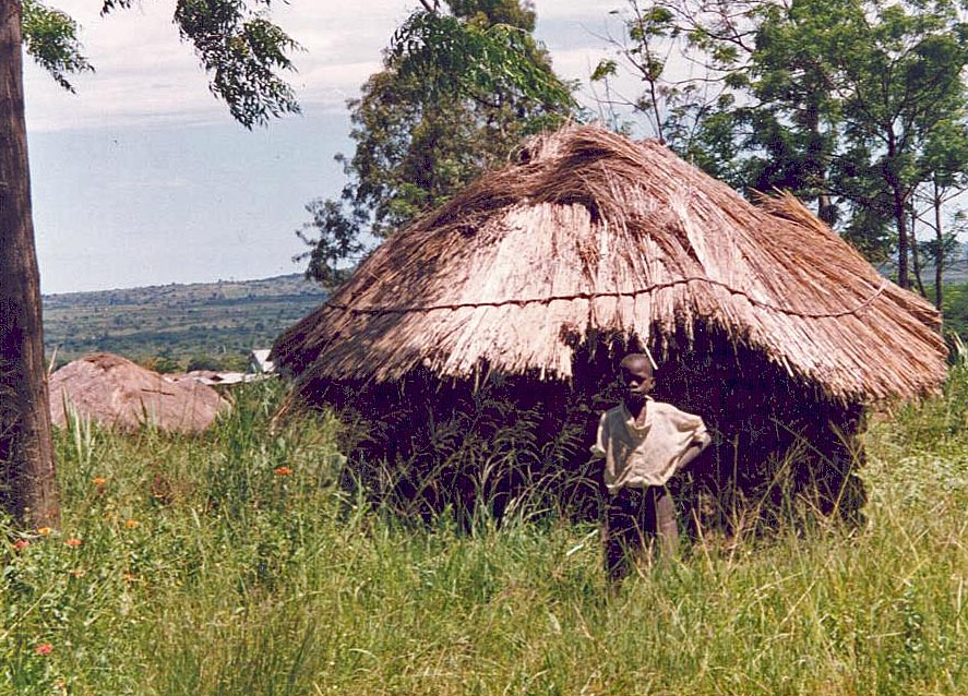 Typical village dwelling in Tanzania. (Christian Aid Mission)