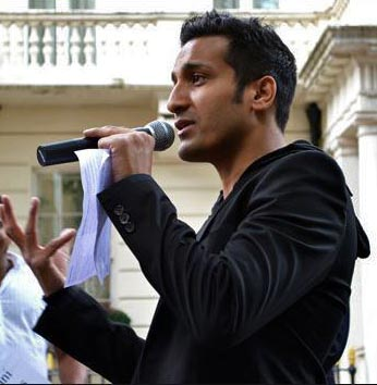 Wilson Chowdhry, head of the British Pakistani Christian Association. (Voice of the Persecuted photo)