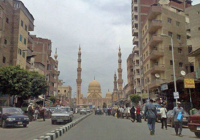 Tanta, Egypt, in the Nile Delta. (Wikipedia)