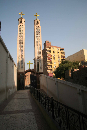 Church of the Holy Virgin and the Archangel Michael in the Al-Warraq area of greater Cairo. (Morning Star News)