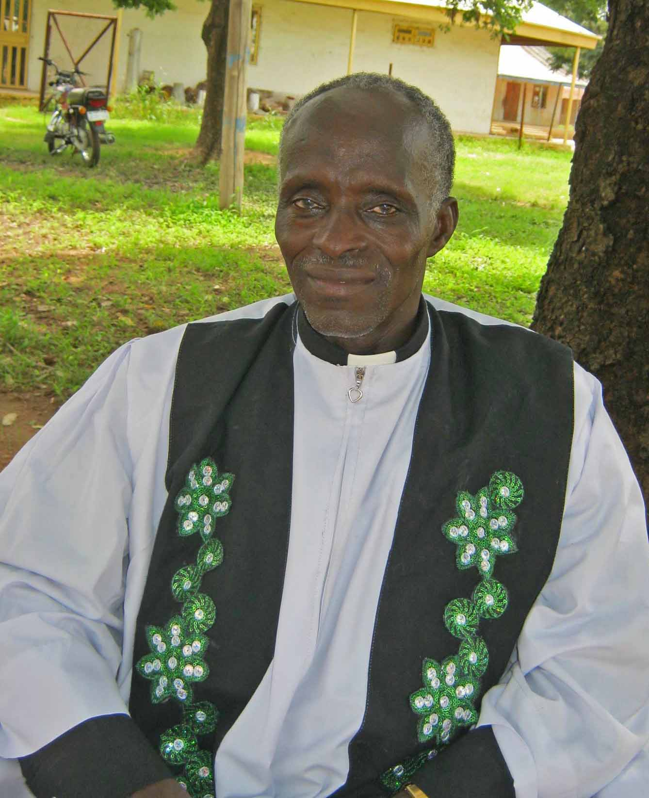 The Rev. Samuel Dante Dali, president, Chuch of the Brethren in Nigeria. (Morning Star News)
