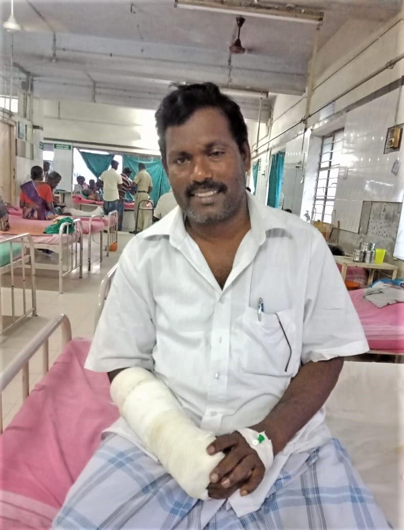 Pastor Jayaseelan Natarajan. (Morning Star News)