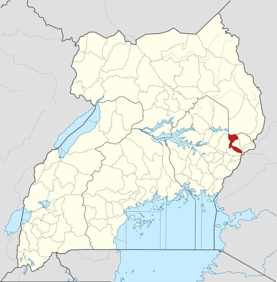 Bulambuli District, Uganda. (Wikipedia)