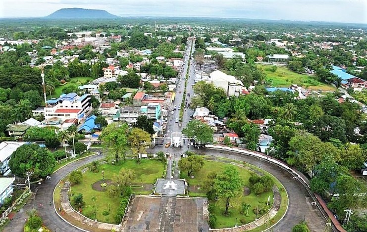 Aerial view of Cotabato, Philippines. (Wikipedia, PeterParker22)