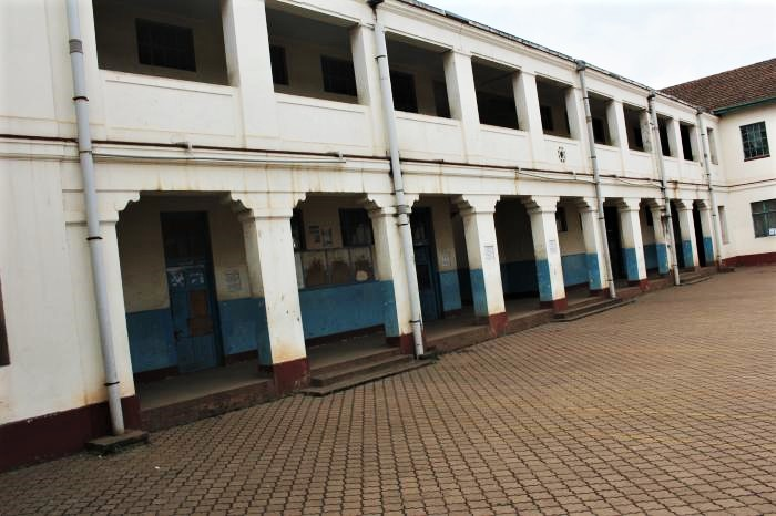 Courtyard at Jamhuri High School in Nairobi, Kenya. (Wikimapia)
