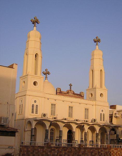Coptic cathedral in Khartoum. (Wikipedia)