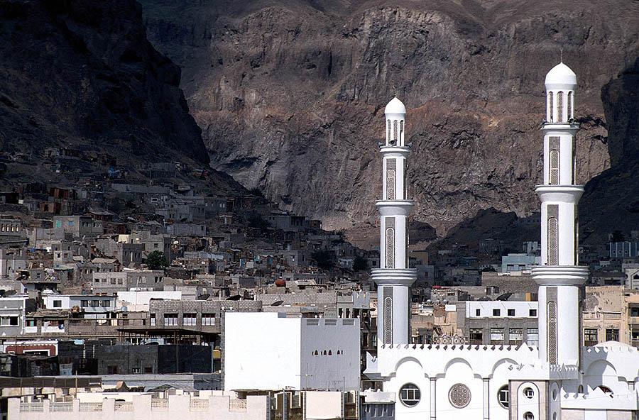 Old Town Aden, Yemen. (Wikipedia, Jialiang Gao)
